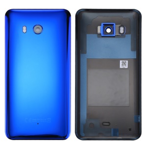 OEM Battery Housing Door Cover Replace Part for HTC U11 - Dark Blue