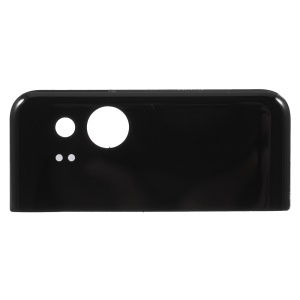 Battery Door Cover Housing with Adhesive Sticker for Google Pixel 2 - Black