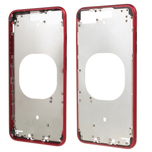 Middle Plate Frame Part Replace Part for iPhone 8 Plus 5.5 inch - Red