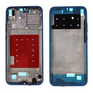 OEM Middle Plate Frame Repair Part for Huawei P20 Lite / Nova 3e with Earpiece Mesh - Blue
