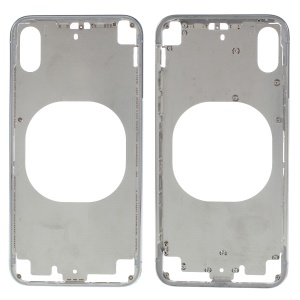 Middle Plate Frame Replacement Part for iPhone X - Silver