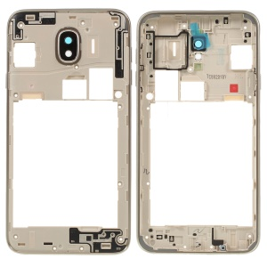 OEM Middle Plate Frame Part Replacement for Samsung Galaxy J4 (2018) - Gold