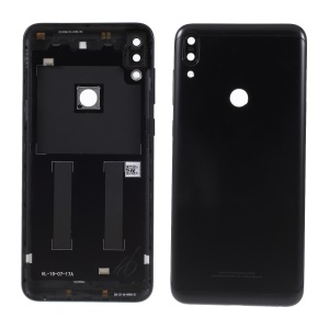 OEM Battery Housing Door Cover with Camera Glass Lens Cover for Asus Zenfone Max Pro (M1) ZB601KL - Black