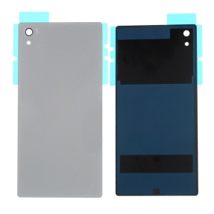 Battery Door Cover Replacement Part for Sony Xperia Z5 Premium - Silver Color