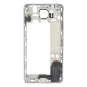 OEM Middle Plate Frame Replacement for Samsung Galaxy Alpha SM-G850F - Silver