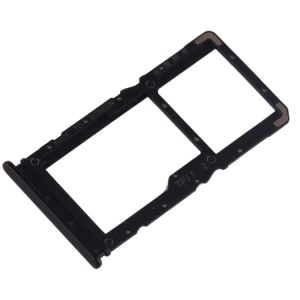 OEM Dual SIM Card Tray Slot Part for Xiaomi Redmi Note 7 / Note 7 Pro (India) - Black