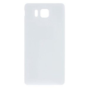Battery Door Cover Replacement Part for Samsung Galaxy Alpha SM-G850 - White