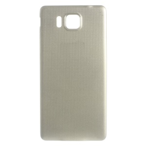 Battery Door Cover Replacement Part for Samsung Galaxy Alpha SM-G850 - Champagne