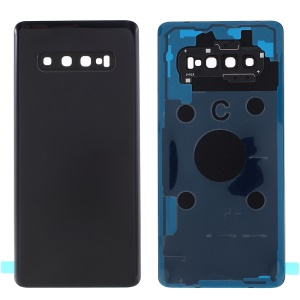 For Samsung Galaxy S10 Plus G975 Battery Housing Cover Repair Part - Black