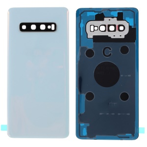 For Samsung Galaxy S10 Plus G975 Battery Housing Cover Repair Part - White