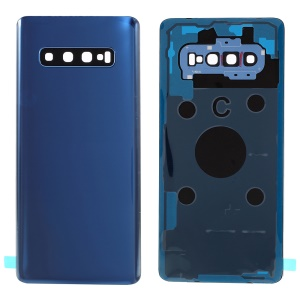 For Samsung Galaxy S10 Plus G975 Battery Housing Cover Repair Part - Blue