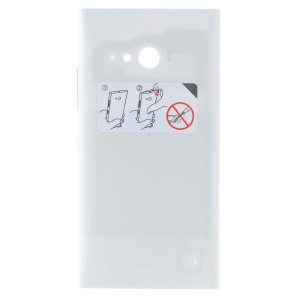 OEM Battery Door Back Cover with NFC Antenna for Nokia Lumia 730 Dual SIM - White