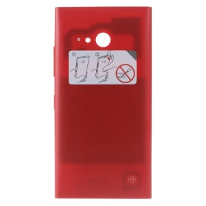 OEM Battery Door Rear Case Cover with NFC Antenna for Nokia Lumia 730 Dual SIM - Red