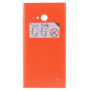 OEM Battery Housing Door Cover with NFC Antenna for Nokia Lumia 730 Dual SIM - Orange