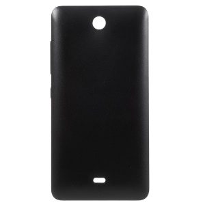 For Microsoft Lumia 430 Dual SIM Battery Door Cover Replacement - Black