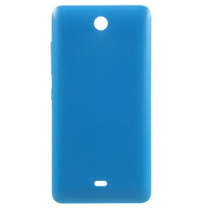 For Microsoft Lumia 430 Dual SIM Back Housing Battery Cover - Blue