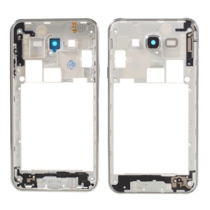 OEM Middle Plate Frame Part for Samsung Galaxy J7 SM-J700F - Silver