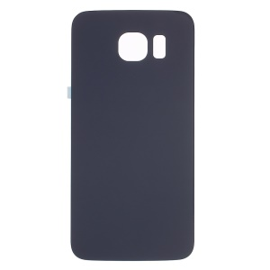 OEM Battery Housing Door Cover with Adhesive Sticker for Samsung Galaxy S6 G920 - Dark Blue