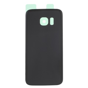 OEM Battery Housing Case Cover Part with Adhesive Sticker for Samsung Galaxy S7 G930 - Black