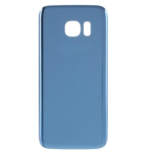 OEM Battery Housing Case Cover Replacement Part with Adhesive Sticker for Samsung Galaxy S7 G930 - Baby Blue