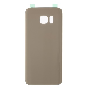 OEM Battery Housing Case Replacement with Adhesive Sticker for Samsung S7 Edge G935 - Gold