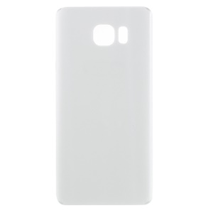 Battery Door Cover with Adhesive Sticker for Samsung Galaxy Note5 SM-N920 - White