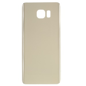 OEM Replacement Battery Door Cover with Adhesive Sticker for Samsung Galaxy Note5 SM-N920 - Gold