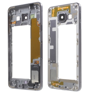 OEM Middle Housing Frame with Small Parts for Samsung Galaxy A3 SM-A310F (2016) - Grey