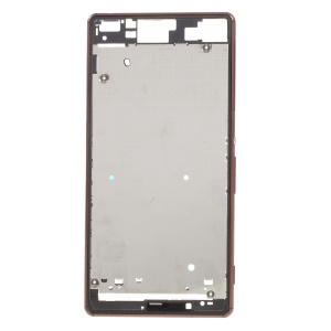 Middle Plate Frame Part for Sony Xperia Z3 Dual (OEM Disassembly) - Copper