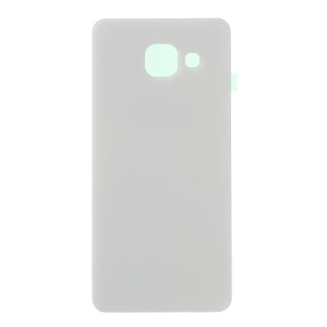 OEM Battery Housing Cover with Adhesive Sticker for Samsung Galaxy A3 SM-A310F (2016) - White