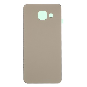OEM Rear Battery Cover with Adhesive Sticker for Samsung Galaxy A3 SM-A310F (2016) - Gold Color