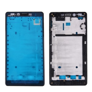 For Xiaomi Hongmi Note 4G Version OEM Front Housing Frame Replace Part (A Side)