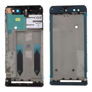 For Sony Xperia XA Ultra OEM Middle Plate Frame Replace Part - Black