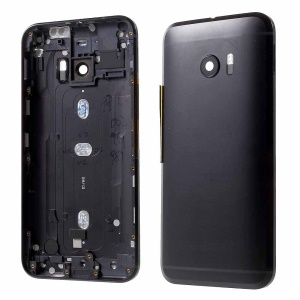 For HTC 10 OEM Back Battery Housing Door Cover Replacement - Black