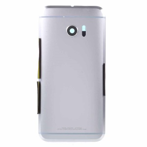 For HTC 10 Battery Housing Back Cover OEM Replacement Part - Silver Color