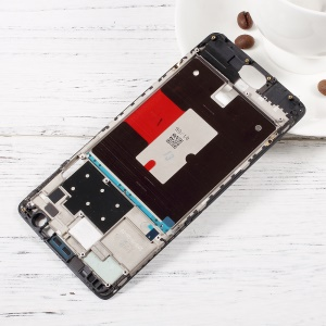 OEM Middle Plate Frame Part for OnePlus 3 - Black