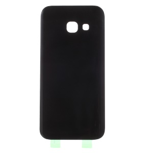 OEM Battery Door Cover with Adhesive Sticker for Samsung Galaxy A3 (2017) A320 - Black