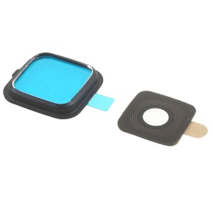 OEM Rear Camera Lens Ring Cover for Samsung Galaxy Note Edge N915 - Black