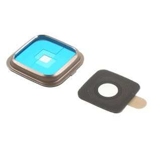 OEM Rear Camera Lens Ring Cover for Samsung Galaxy Note Edge N915 - Gold Color