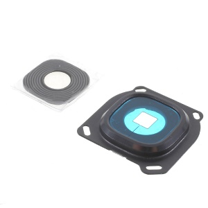 OEM Rear Camera Lens Ring Cover for Samsung Galaxy A8 SM-A800F - Black