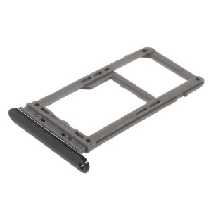 OEM SIM MicroSD Card Tray Holder Replacement for Samsung Galaxy Note 8 SM-N950 - Black