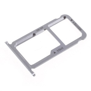 OEM SIM MicroSD Card Tray Holder Parts for Huawei Honor 6x (2016) - Grey
