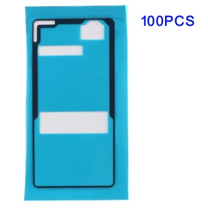 100PCS/Pack Battery Back Door Cover Adhesive Sticker for Sony Xperia Z3 Compact D5803 D5833 M55w