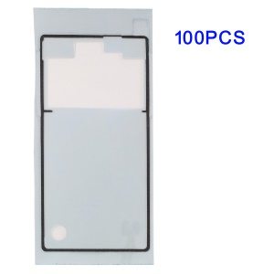 100Pcs/Lot Battery Back Cover Adhesive Sticker for Sony Xperia Z L36h Yuga C6603