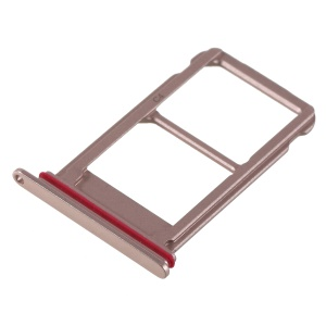 OEM Dual SIM Micro SD Card Tray Holder Replacement for Huawei Mate 10 Pro - Rose Gold Color