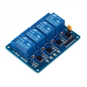 SRD04 4 Channel DC 5V Relay Shield Module Control Board with Optocoupler