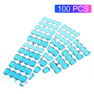 100PCS/Pack Adhesive Sticker for Samsung Galaxy S6 G920 Back Glass Camera Lens Cover