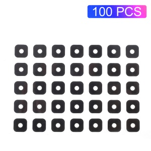 100PCS/Pack OEM Rear Back Glass Camera Lens Cover with Adhesive Sticker for Samsung Galaxy Core Prime SM-G360 / Prime Value Edition SM-G361