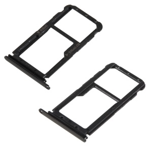 OEM Dual SIM MicroSD Card Tray Slot Holder for Huawei nova 2 - Black
