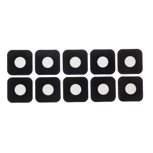 10PCS/Pack OEM Rear Back Camera Lens Cover with 3M Adhesive Sticker for Samsung Galaxy A8 (2018) A530